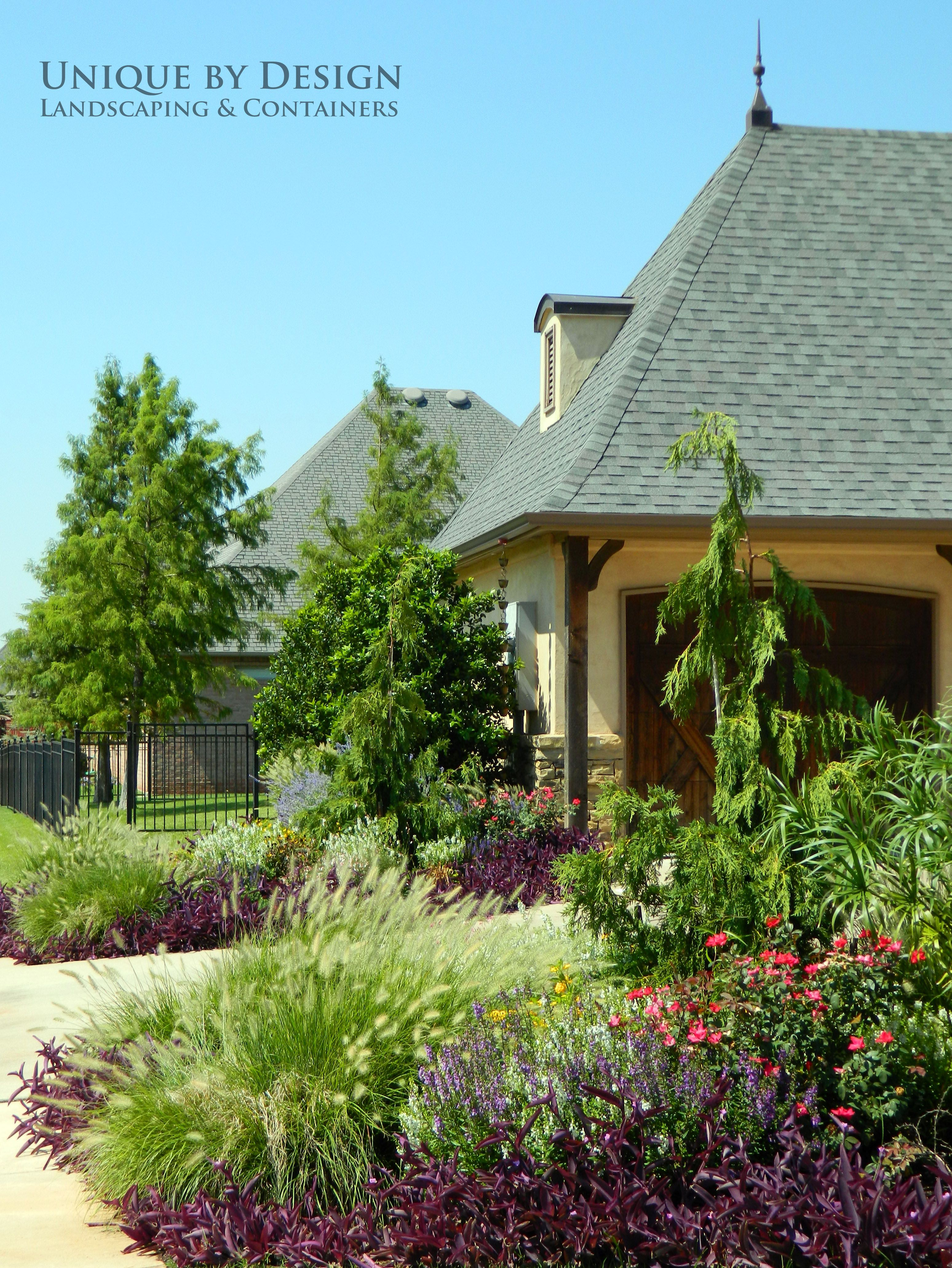 Curb Appeal Front Yard Landscape No Mow Color And 640 x 480