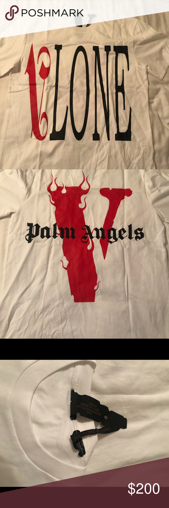 a72ffa3c16114e Vlone x Palm Angels Tee Vlone x Palm Angels Tee Great condition worn less  than 10 times VLONE Shirts Tees - Short Sleeve