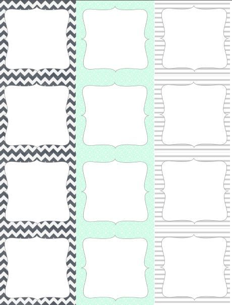 Round \ Square Labels from Lizzyu0027s Collection Worldlabel Blog - labels template free
