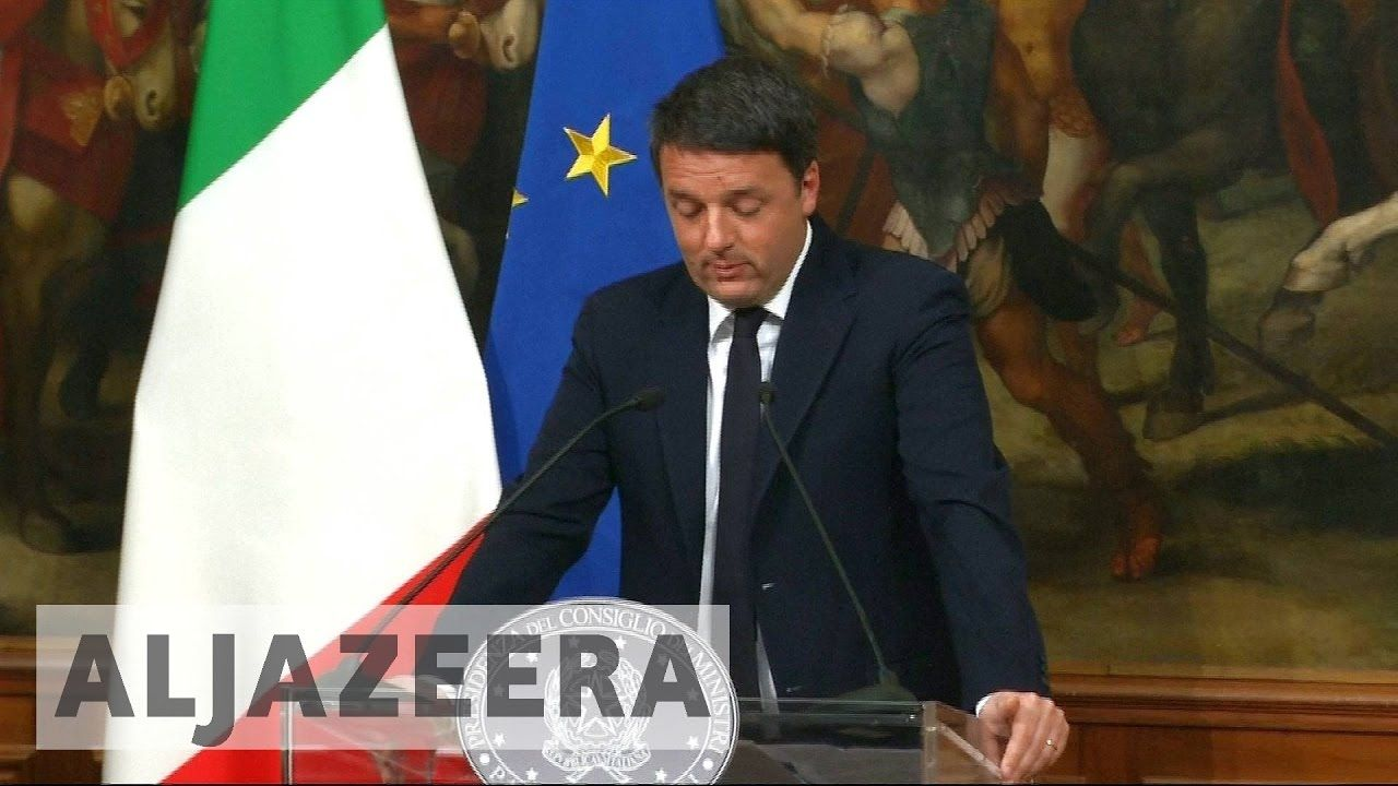 Italy's prime minister vows to resign