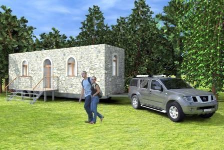 Casa Con Ruote Bisignanocostruzioni Com Portable Home Case