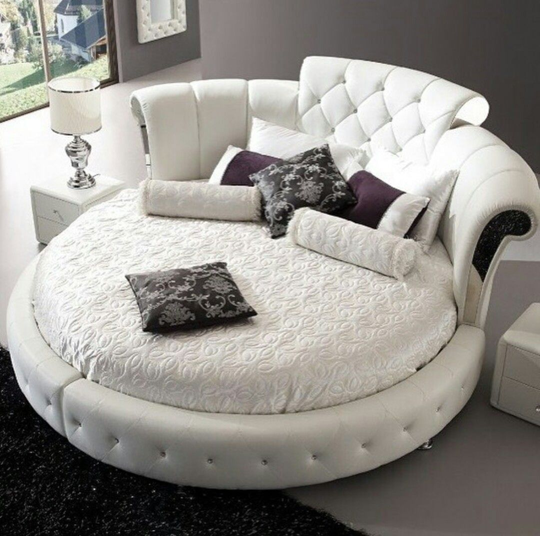 Samira Furniture Fly Bedroom Decor In 2019 Round Beds Home