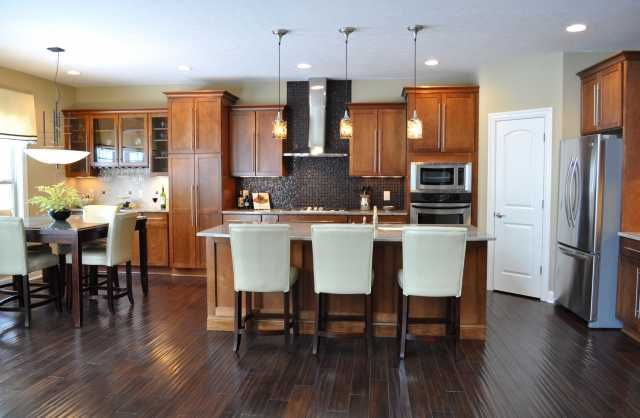 Www Manorhomes Biz Images Phocagallery Kitchens Thumbs Phoca Thumb L Kitchen 20 201902 20hannah 20farms 2 Dark Kitchen Floors Kitchen Remodel Kitchen Flooring