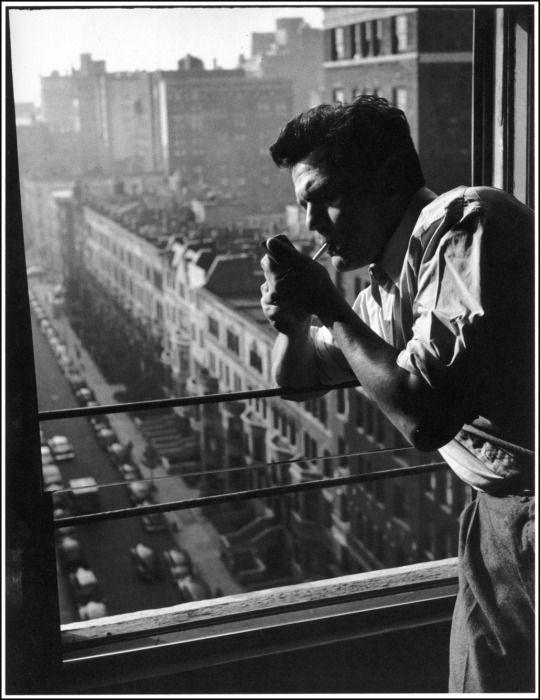 John Garfield in New York City, 1940, by John Swope