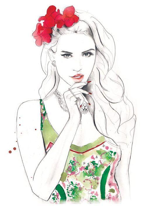 Lana Del Rey by sarah hankinson