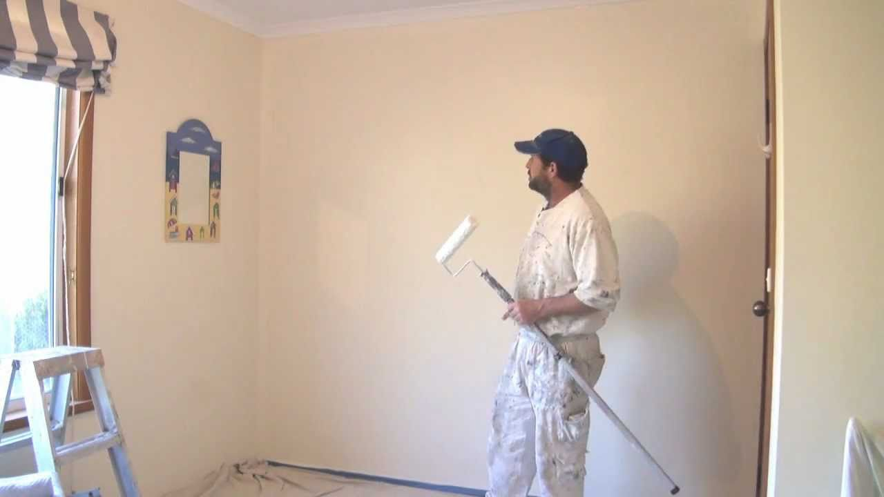 How To Paint A Wall Using A Roller The Best Technique Wall