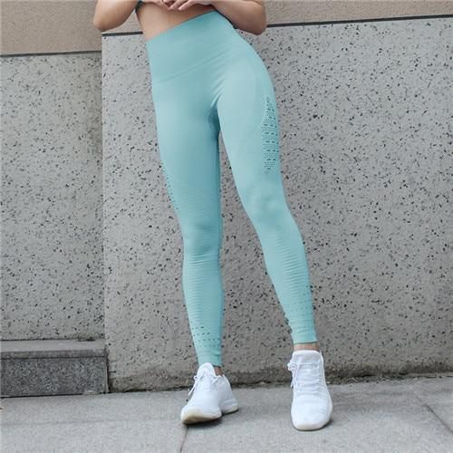 High Waisted Yoga Pants Gym Seamless Leggings Exercise Tights Women Pant Gym Leggings Fitness Yoga R...