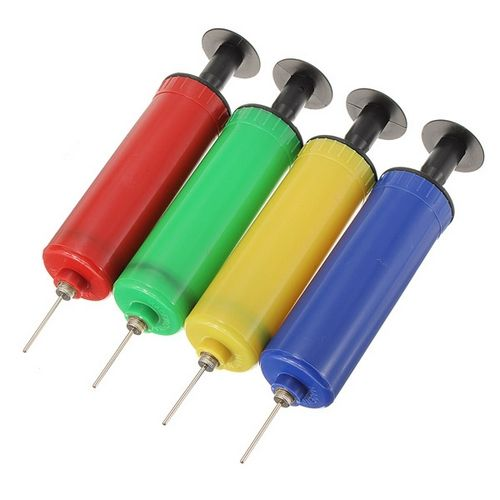 Compact Hand Sports Air Pump Inflator Needle For Soccer Basketball