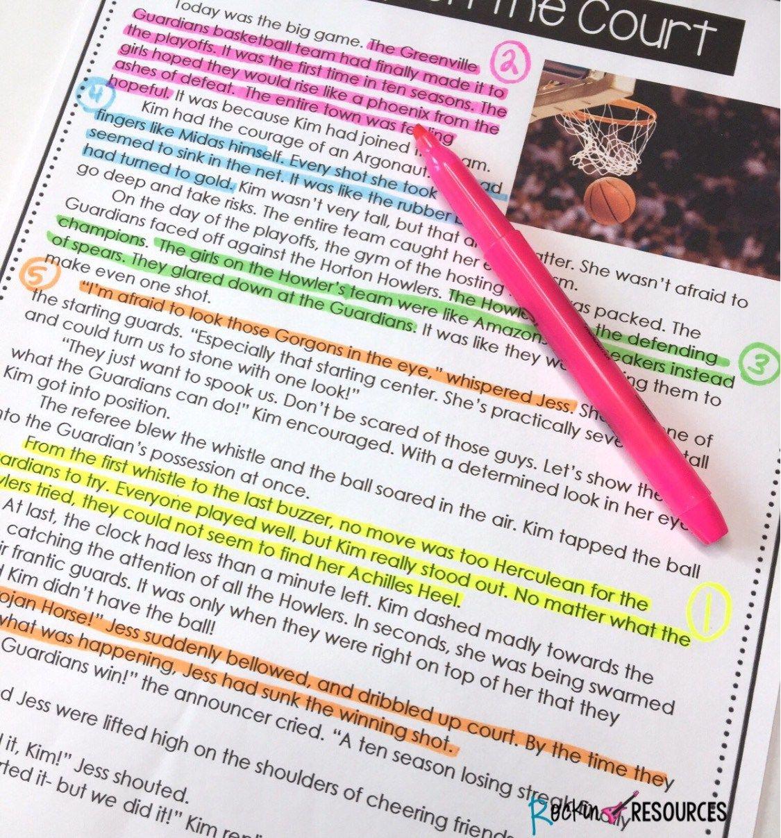 How To Teach Text Evidence