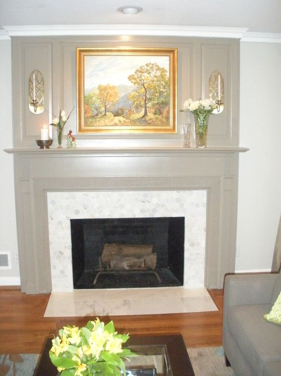Sherwin williams agreeable gray on walls sw keystone gray on fireplace surround for the home for Keystone grey sherwin williams exterior