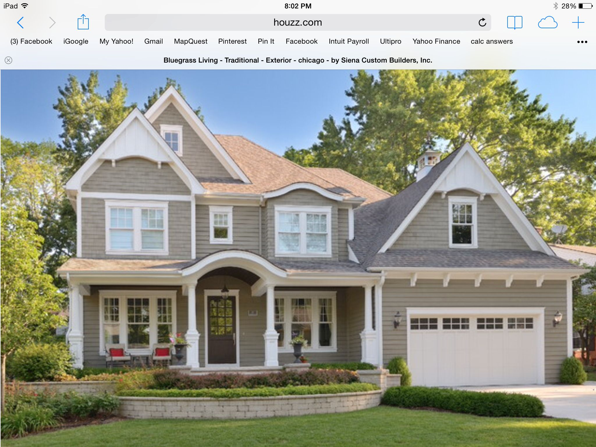 Copley gray exterior paint benjamin moore house paint - White exterior paint color schemes ...