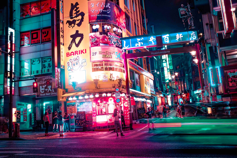 Tokyo Street City And Urban Hd Wallpaper Japan Lights Neon Night Tokyo 4k Wallpaper Hdwallpaper Tokyo Japan Travel Guide Tokyo Japan Travel Tokyo Night