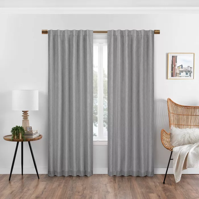 Nora Solid Absolute Zero Blackout Window Panel Eclipse In 2020 With Images Blackout Windows Window Panels Panel Curtains