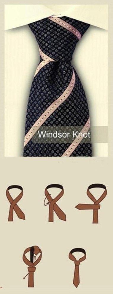 Windsor Knot Diagram The Art Of Being A Man Pinterest Windsor Knot