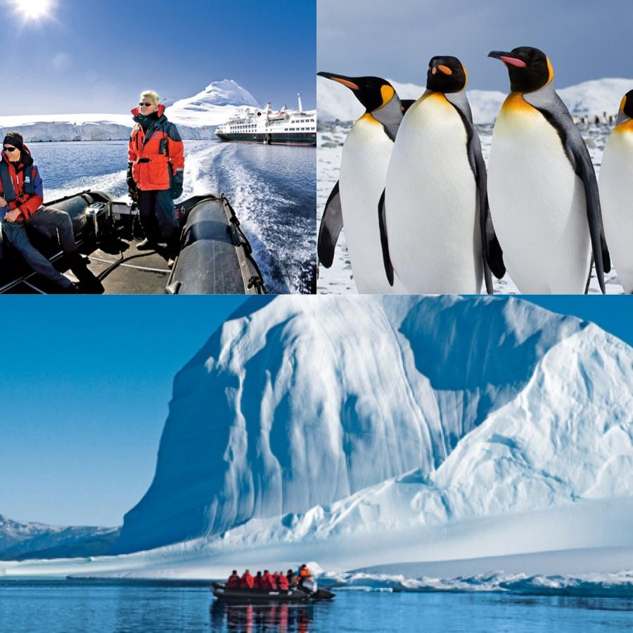 The adventure spots along an Antarctica cruise are just