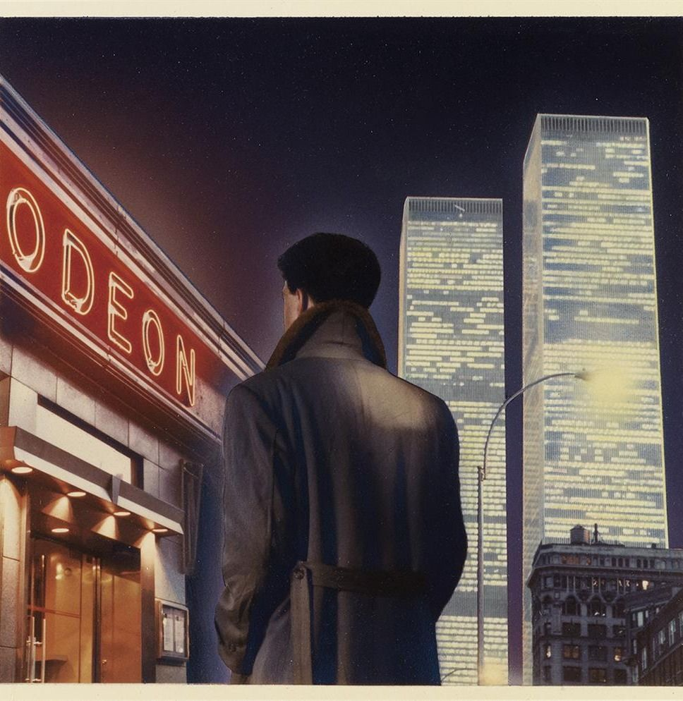You Can Buy The Bright Lights Big City Cover Art With Images Cover Art Graphic Design Books Retro Designs
