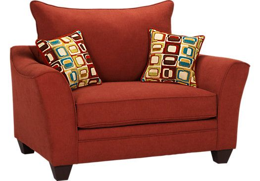 Shop For A Santa Monica Red Chair At Rooms To Go. Find Chairs That Will Part 90