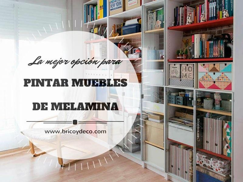 Pintar muebles de melamina con pintura para azulejos, Â¿merece la ...