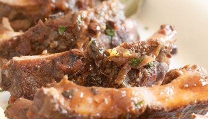 Grilled-Braised Pork Loin Back Ribs wowwwwww