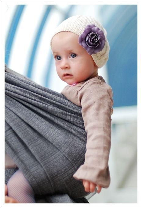 Chusta Tkana Ellevill Jade Fog Baby Wearing Baby Wraps Jade