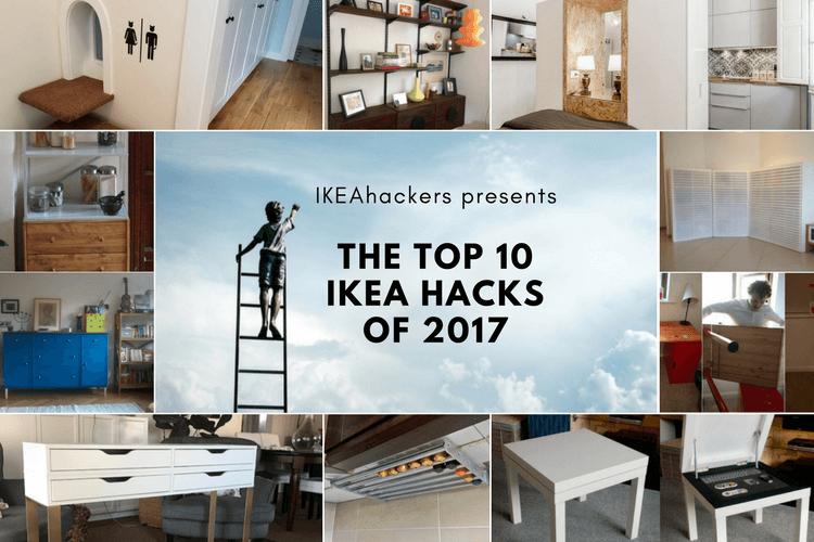 Drumroll presenting the top 10 ikea hacks of 2017 ikea for Mobili ikea modificati