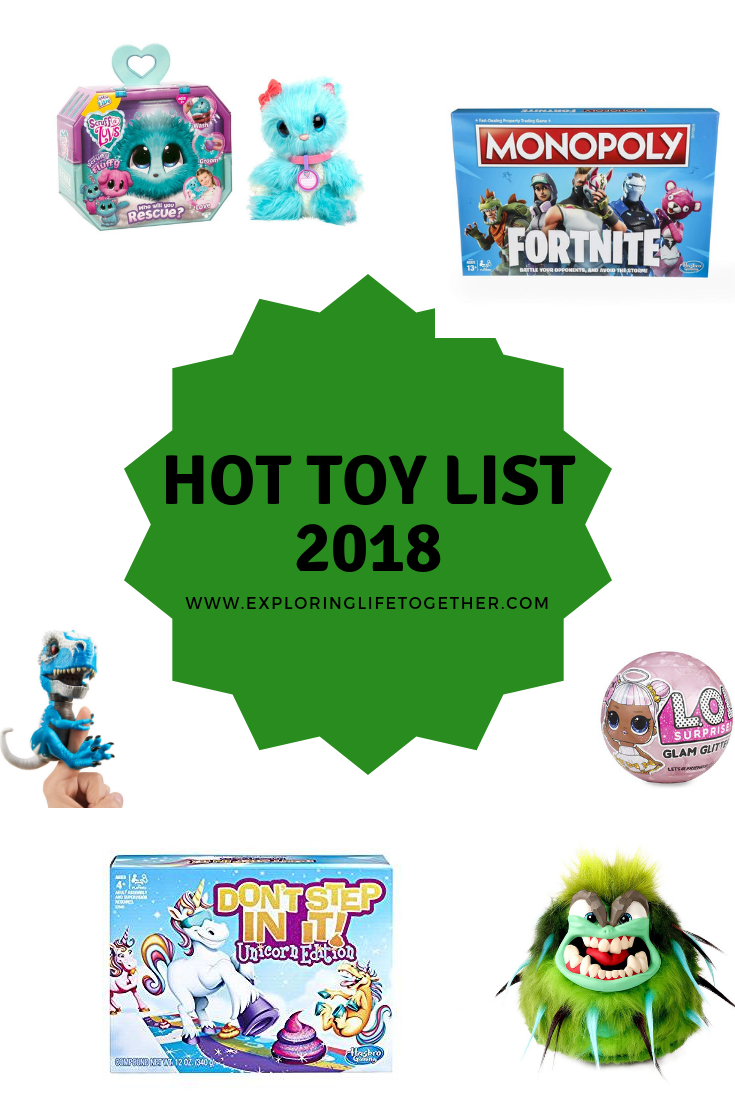 Hot Toy List For Christmas 2019 Amazon's top 10 trending toys for Christmas 2018 | Style 2019