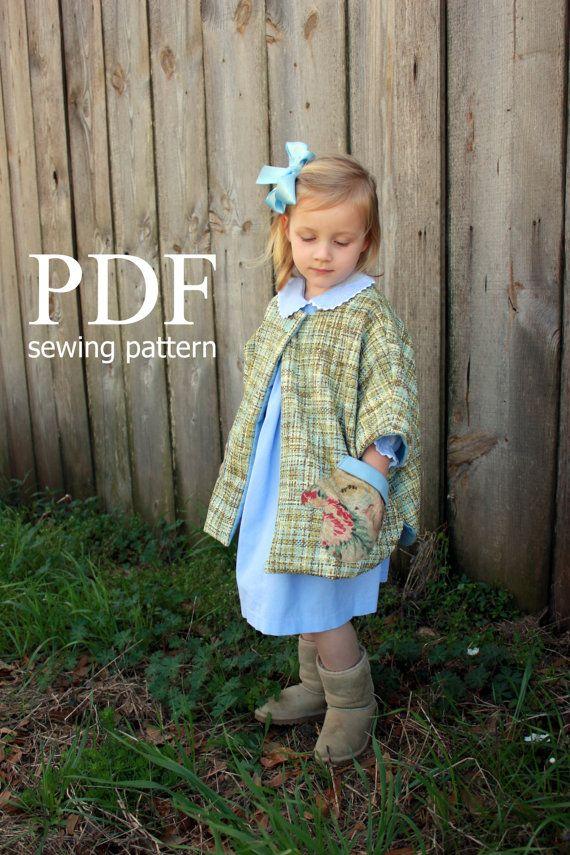 Modern Nähmustern Kinderkleidung Vignette - Decke Stricken Muster ...