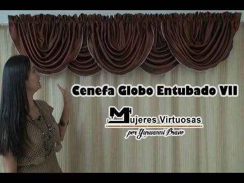 Como hacer una Cenefa Globo Entubado Redondo Patron Gratis por ...
