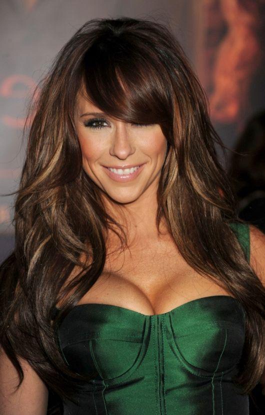 Black Hair With Brown Highlights Ideas Hairstyles Pinterest
