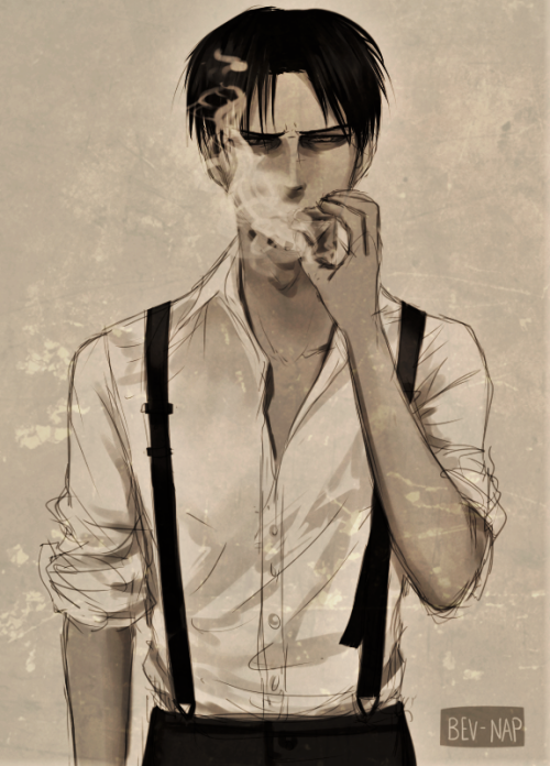 welcome, brat, tbh levi with suspenders in the 1920s.