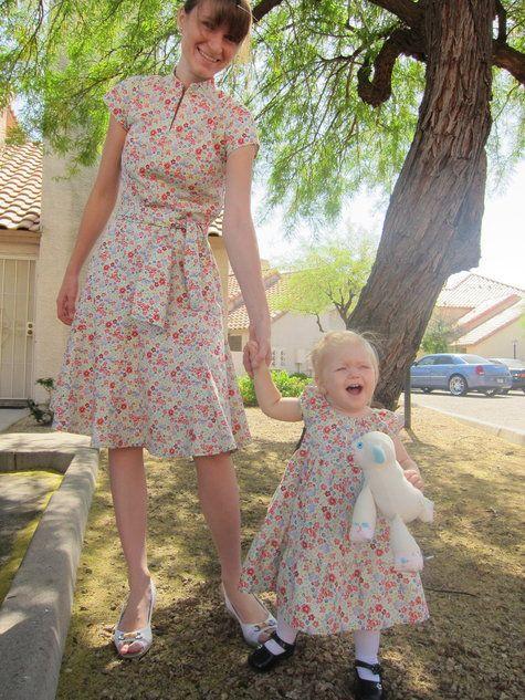 Mother Daughter Easter Dresses