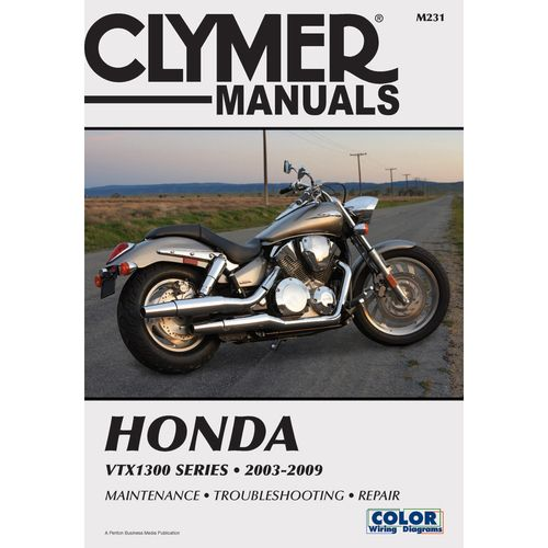 clymer honda vtx1300 series 2003 2009 cycle pinterest honda rh pinterest com honda moto service manual honda motorcycle owners manuals for sale
