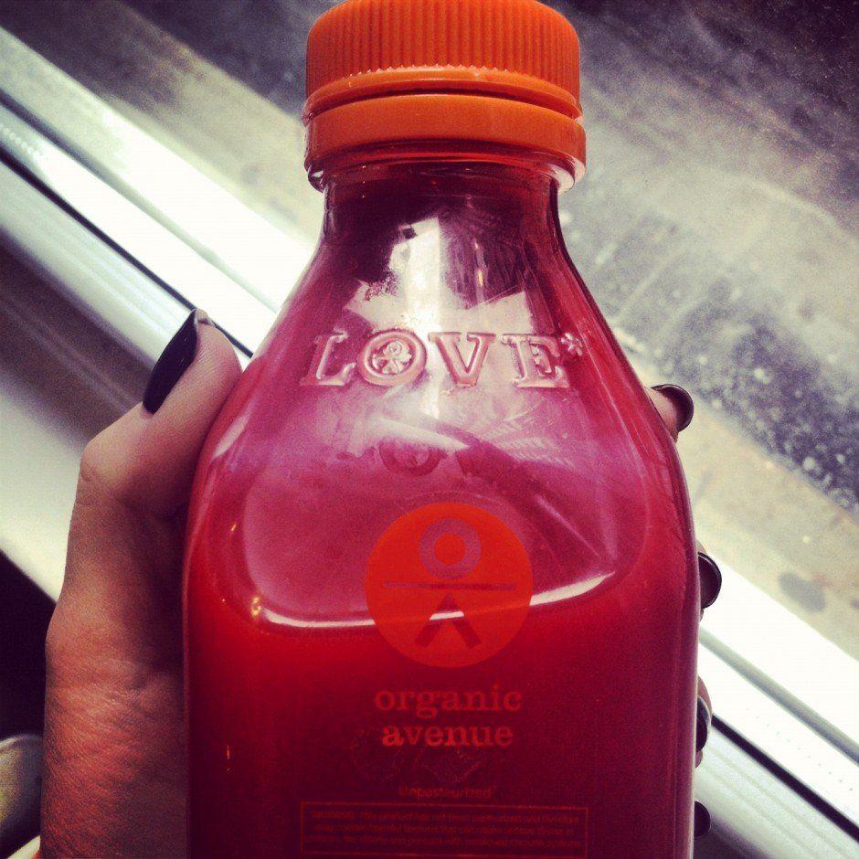 Organic Avenue Love Beauty Tata Harper Juice Cleanse