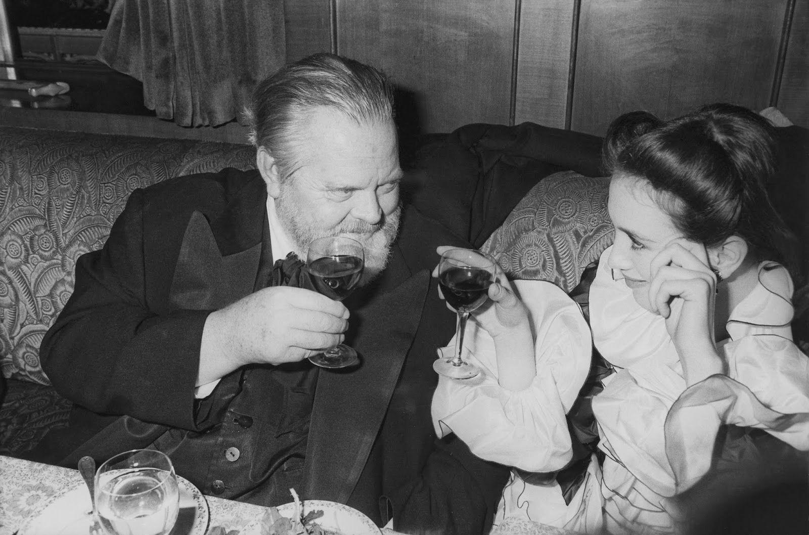 Isabelle Adjani & Orson Welles à la Cérémonie des César 1982