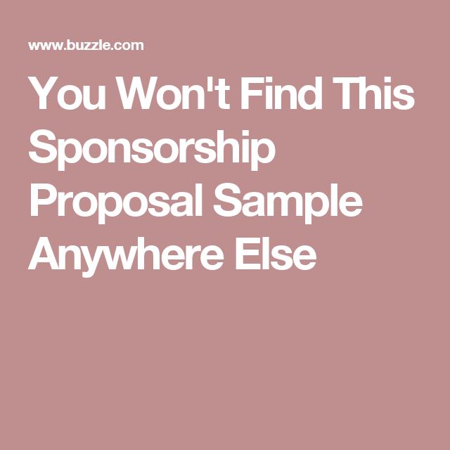 i designed a sponsorship proposal for a comedian corporate giving pinterest sponsorship letter proposal and my design