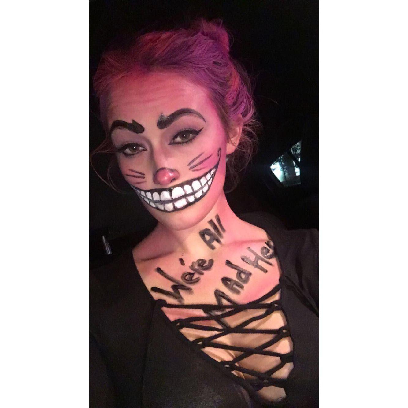 Halloween Makeup Chester Cat Cat Halloween Makeup Chester Cat Makeup