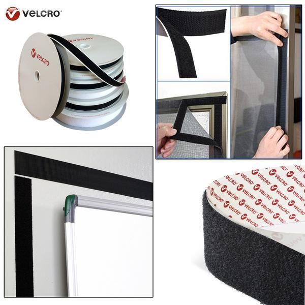 VELCRO® Brand PS14 Self Adhesive Hook and loop Sticky Backed tape fastener 20mm