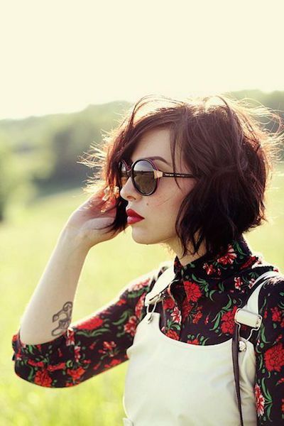 20 Chic Short And Messy Hairstyles You Have To Try Hair