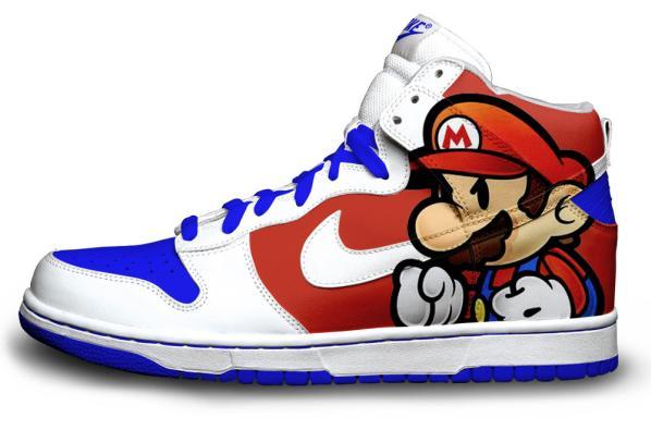 Nike de Mario Bros.   Zapatillas nike, Calzado nike gratis y