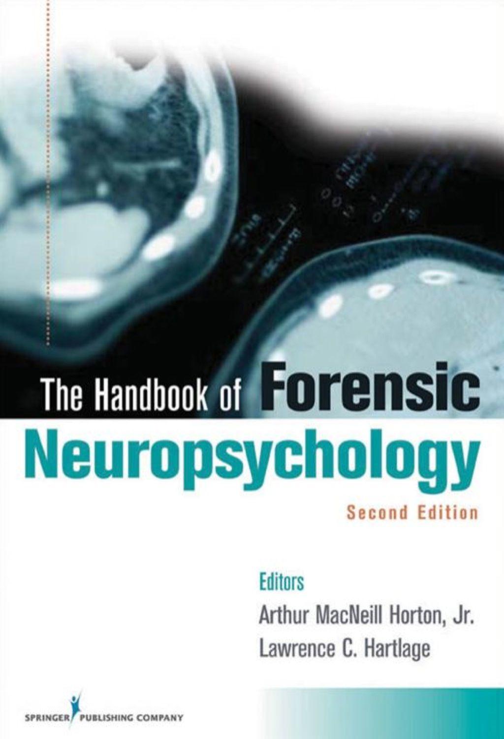Handbook of forensic neuropsychology second edition ebook