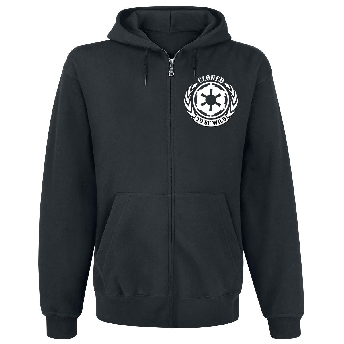 Cloned To Be Wild - Hooded zip by Star Wars