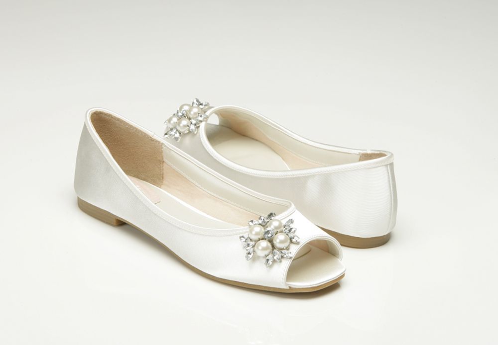 Low Heel Bridal Shoes Flats Wedding Shoes Mother Of The Bride