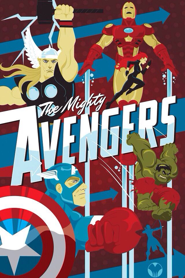 The Mighty Avengers!
