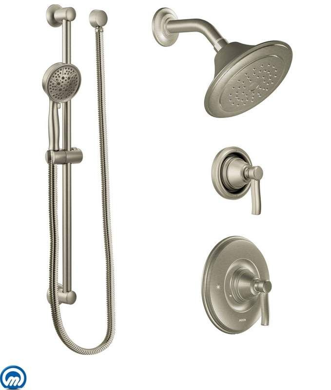 View The Moen 2025 Pressure Balanced Shower System With Shower