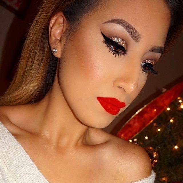 Red Lips Makeup Look By Yasmin Rocha Spring Wedding Makeup
