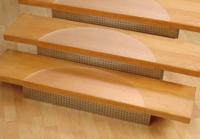 Best Clean Non Slip Treads For Stairs Stair Treads Contemporary Stairs Carpet Stairs 400 x 300