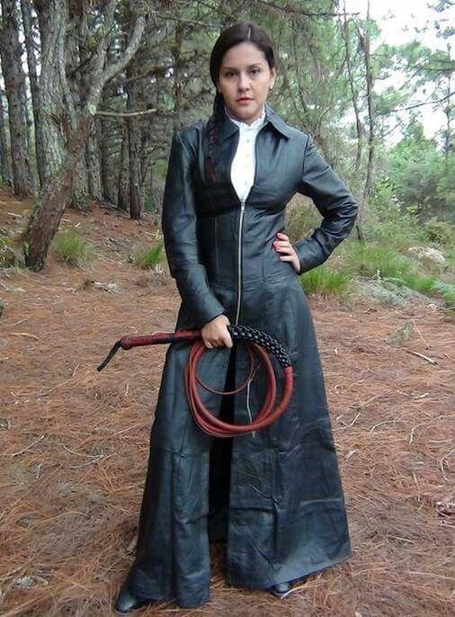 Long Black Leather Coat Dress