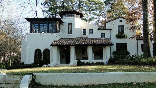 Spanish Mission-Style Home, Homewood, Alabama | Spanish, Spanish ...