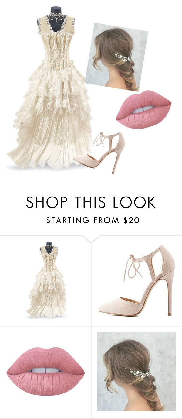 """""""#Titanic1"""" by alexandraalex-2 ❤ liked on Polyvore featuring Charlotte Russe and Lime Crime"""