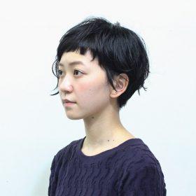 ひょろアシメショート – 嶋津一馬, CODE+LIM | 2016.11 | ヘア ス…